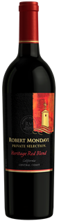 Robert Mondavi Heritage Red Blend Private Selection 2015...